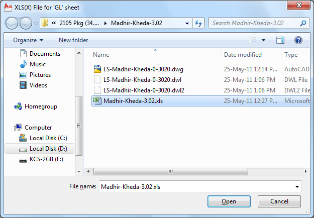 File brows dialog box to export text